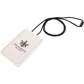 Branded Jubilee Felt Media Holder Lanyard