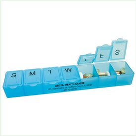 Promotional Jumbo 7 Day Pillbox