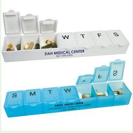 Jumbo 7 Day Pillbox for Customization