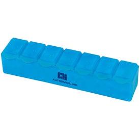 Company Jumbo 7-Day Strip Pill Box