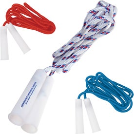 Woven Nylon Jump Rope Imprinted with Your Logo