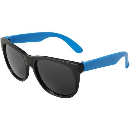 Neon Blue Junior Neon Sunglasses