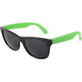 Printed Junior Neon Sunglasses