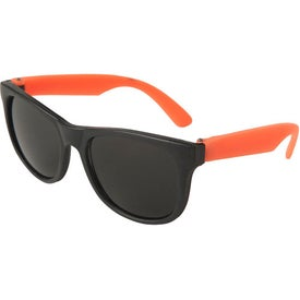 Junior Neon Sunglasses Imprinted with Your Logo