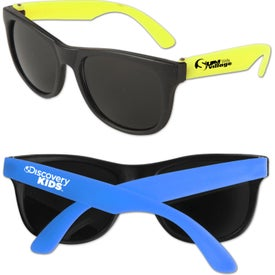 Personalized Junior Neon Sunglasses