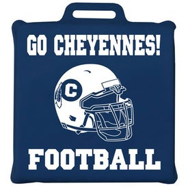 Personalized Junior Square Stadium Cushion