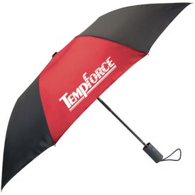 Branded Kelsey Compact Size Folding Umbrella