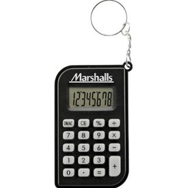 Key Ring Calculator Imprinted with Your Logo