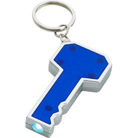 Key Shape LED Key Chain for Your Organization