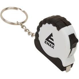 Company Key Tag Tape Measure
