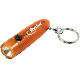 Keychain Flashlight for Advertising