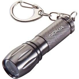 Advertising Keychain LED Flashlight