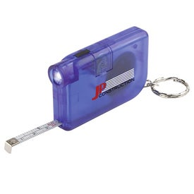 Branded On the Go Keychain Tape Measure