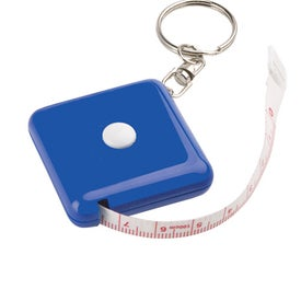 Handy Keychain Tape Measure with Your Slogan
