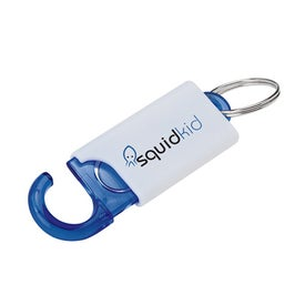 Advertising Keychain With Hook