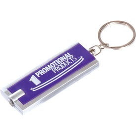Keylight Rectangle Imprinted with Your Logo