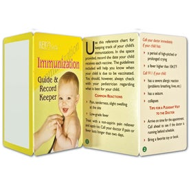 Key Point: Immunization Guide and Record Keeper Imprinted with Your Logo