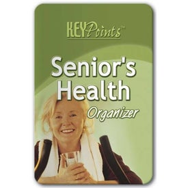 Key Point: Senior's Health Organizer Branded with Your Logo