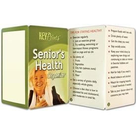 Key Point: Senior's Health Organizer for Promotion
