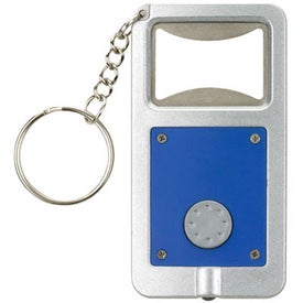 Company Keyring LED Bottle Opener