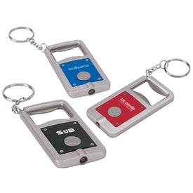 Keyring LED Bottle Opener