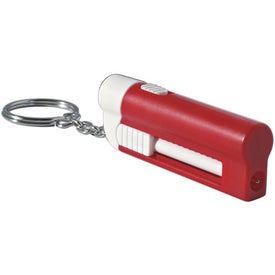 Advertising Key Ring Light With Pen