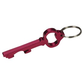 Key Shape Bottle Opener Key Rings