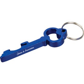 Key Shape Metal Bottle Can Opener