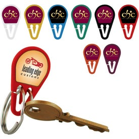 Custom KeyZee Nail Saving Key Ring