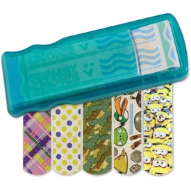 Kidz Bandage Dispenser with Character Bandages for Your Organization