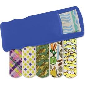 Branded Kidz Bandage Dispenser with Character Bandages