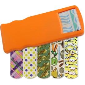 Monogrammed Kidz Bandage Dispenser with Character Bandages