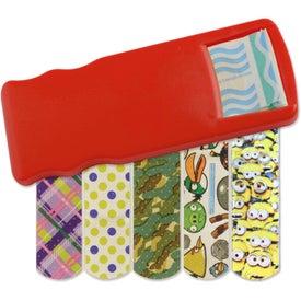 Logo Kidz Bandage Dispenser with Character Bandages