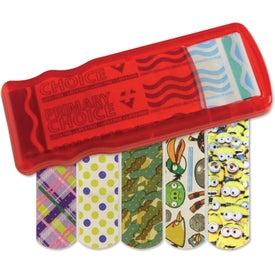 Printed Kidz Bandage Dispenser with Character Bandages