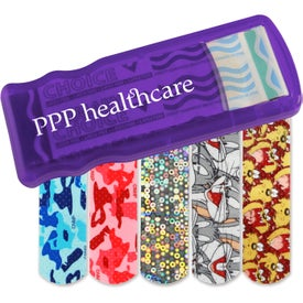 Kidz Bandage Dispenser with Character Bandages Branded with Your Logo