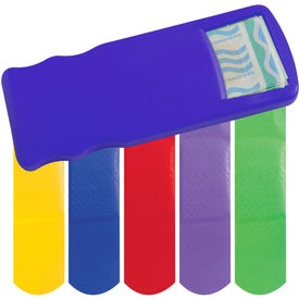 Kidz Bandage Dispenser with Colored Bandages for Customization