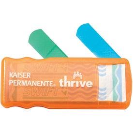 Kidz Bandage Dispenser with Colored Bandages