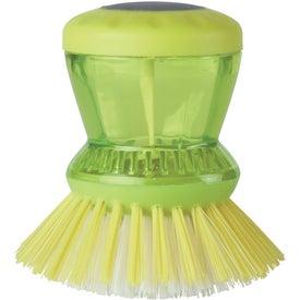 Logo Kitchen Scrub Brush