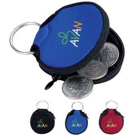 Koozie Keychain Branded with Your Logo