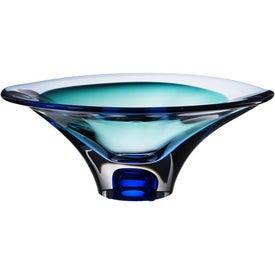 Kosta Boda Vision Bowl - Blue for Promotion