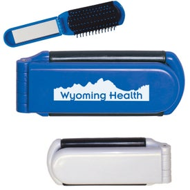 Kwik-Fix Folding Brush with Mirrors