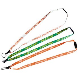 Lace Lanyard with Plastic Mini Disconnect