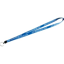 Lace Lanyard with Standard Plastic Clamp for Your Church