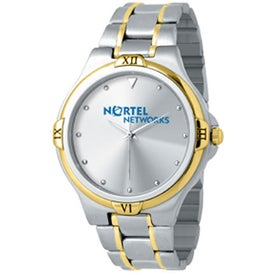 Promotional Ladies 2-Tone Designer Watch