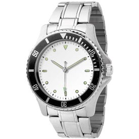 Ladies Diver Design Watch with Your Slogan