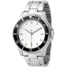 Ladies Diver Design Watch with Your Slogan