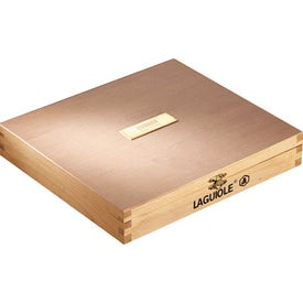 Laguiole Cheese Board with Knives for Marketing