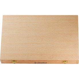 Laguiole Cutting Board Set Printed with Your Logo