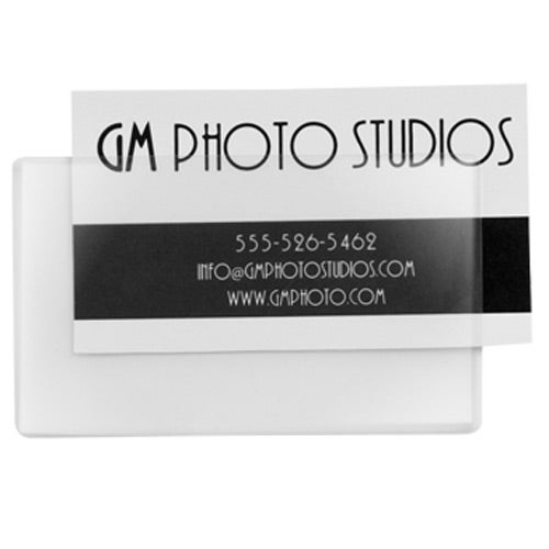 Clear Laminate Pouches - Business Card