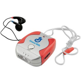 Lanyard Style FM Scanner Radio for Your Company